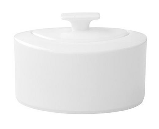 ZUCKERDOSE Keramik - Weiß, Basics, Keramik (0,33l) - Villeroy & Boch