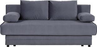 SCHLAFSOFA in Textil Blau  - Blau/Schwarz, Design, Textil (200/90/100cm) - Novel
