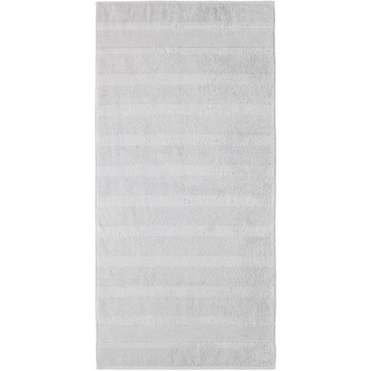 DUSCHTUCH 80/160 cm - Silberfarben, Textil (80/160cm) - CAWOE