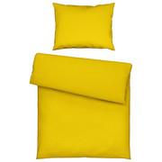 BETTWÄSCHE 140/200 cm - Gelb, Basics, Textil (140/200cm) - Novel
