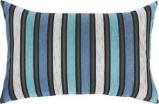 ZIERKISSEN 40/60 cm - Blau/Creme, Design, Textil (40/60cm) - Novel