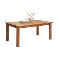 GARTENTISCH - Teakfarben, Design, Holz (175-275/75/100cm) - Amatio