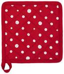 TOPFLAPPEN Rot, Weiß - Rot/Weiß, LIFESTYLE, Textil (20/20cm) - Landscape