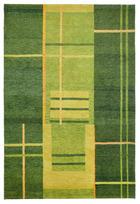 KOBEREC ORIENTÁLNÍ - zelená, Moderní, textil (90/160cm) - ESPOSA