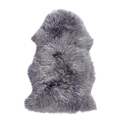 SCHAFFELL - Grau, Design, Leder/Fell (60/95cm) - Linea Natura