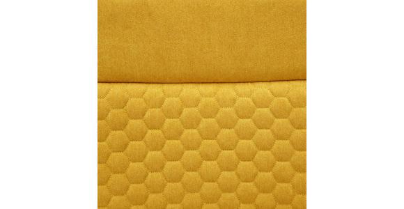 SCHWINGSTUHL in Metall, Textil Gelb  - Edelstahlfarben/Gelb, Design, Textil/Metall (47/92/59cm) - Xora