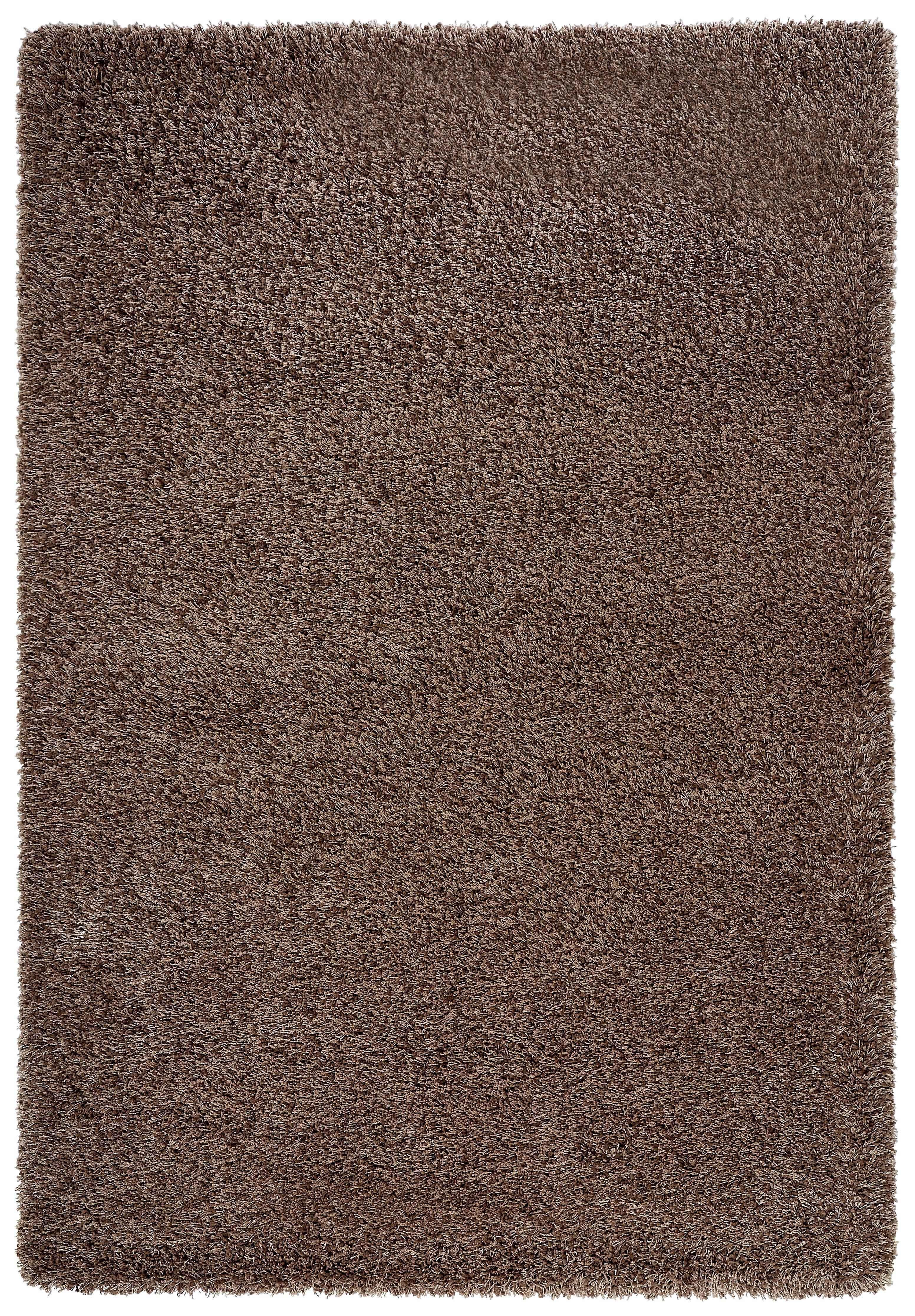HOCHFLORTEPPICH  gewebt  Taupe  160/230 cm - Taupe, Textil (160/230cm) - NOVEL