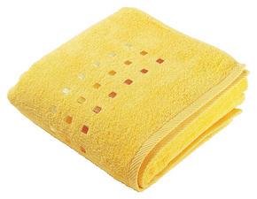HANDDUK - gul, Klassisk, textil (50/100cm) - Esposa