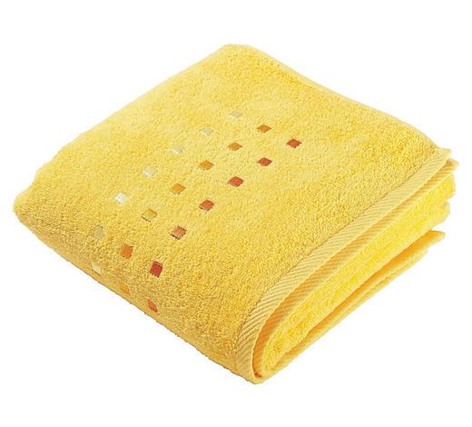 RUČNÍK - žlutá, Konvenční, textilie (50/100cm) - Esposa