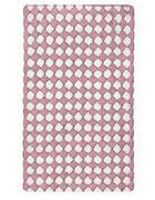 KOPALNIŠKA PREPROGA MERIDA - roza/bela, Konvencionalno, tekstil (60/60cm) - Kleine Wolke