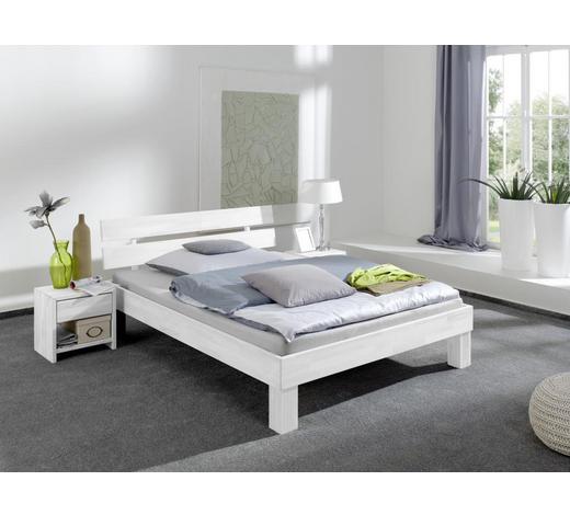 FUTONBETT in Holz Weiß - Weiß, Design, Holz (100/200cm)