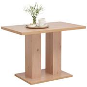 JEDILNA MIZA, hrast - hrast, Konvencionalno, leseni material (105/65/77cm) - Cantus