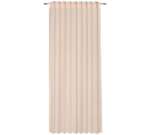 FERTIGVORHANG transparent - Taupe/Beige, Basics, Textil (135/245cm) - Esposa