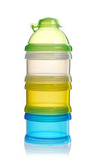 MILCHPULVERPORTIONIERER - Blau/Transparent, Basics, Kunststoff (22,5/9,5/9,5cm) - Reer