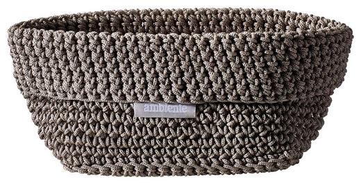 AUFBEWAHRUNGSBOX - Taupe, Design, Textil (15/10/9cm) - Ambiente