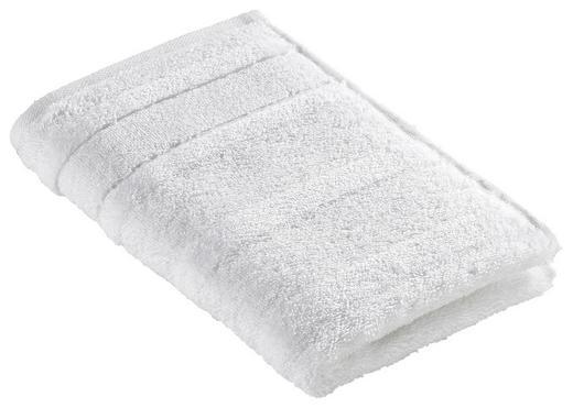 GÄSTETUCH Weiß 30/50 cm - Weiß, Basics, Textil (30/50cm) - Cawoe