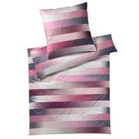 BETTWÄSCHE Makosatin Beere 135/200 cm - Beere, Textil (135/200cm) - Joop!