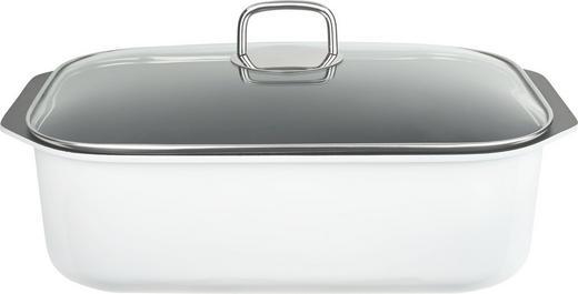 BRÄTER  Aluminium  8,25 L - Klar/Transparent, Basics, Glas/Metall (36cm) - Schulte Ufer