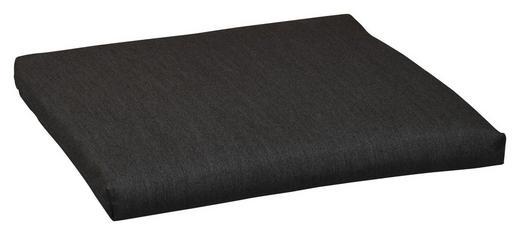 SITZKISSEN Graphitfarben - Graphitfarben, KONVENTIONELL, Textil (42/42/4cm)