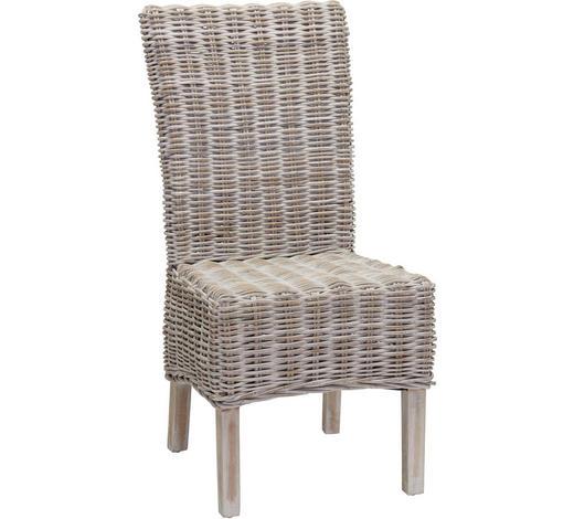 ŽIDLE, šedá - šedá, Lifestyle, dřevo/kompozitní dřevo (54/100/46cm) - Ambia Home