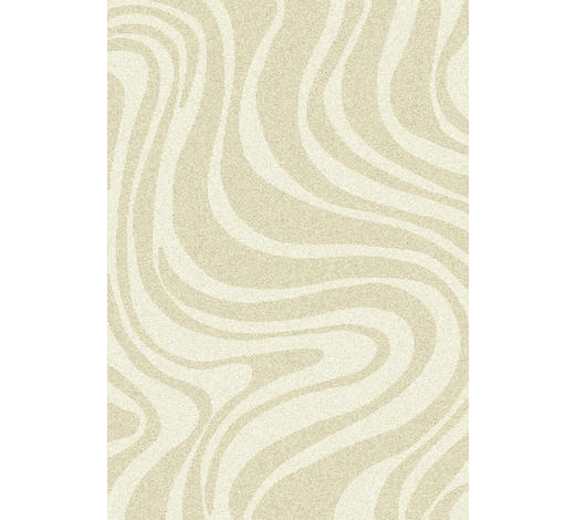 WEBTEPPICH - Beige, Design, Textil (160/230cm) - Novel