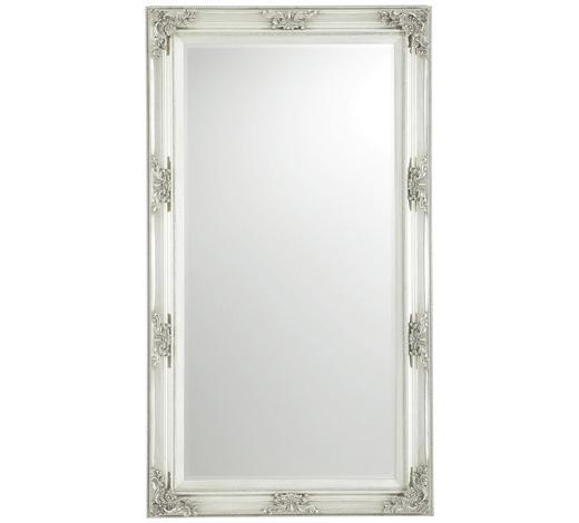 ZRCADLO, paulovnie, jedle, obdélníkové - barvy stříbra, Lifestyle, dřevo/sklo (100/180/7,2cm) - Xora