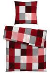 BETTWÄSCHE Biber Rot 135/200 cm  - Rot, KONVENTIONELL, Textil (135/200cm) - Esposa