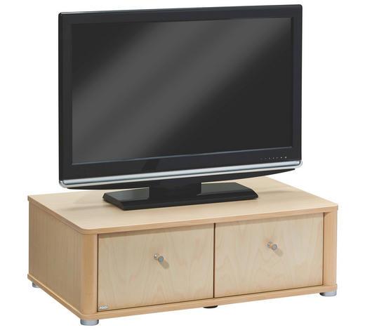 TV-ELEMENT 93,3/31,4/57,3 cm - Birkefarben/Silberfarben, KONVENTIONELL, Holz/Kunststoff (93,3/31,4/57,3cm) - Paidi