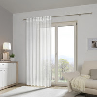FERTIGVORHANG halbtransparent - Weiß, Basics, Textil (140/245cm) - Esposa
