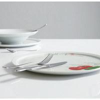 PIZZATELLER Porzellan - Weiß, Basics (30cm) - HOMEWARE