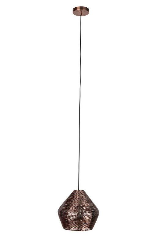 HÄNGELEUCHTE - Kupferfarben, KONVENTIONELL, Metall (35/35/150cm)