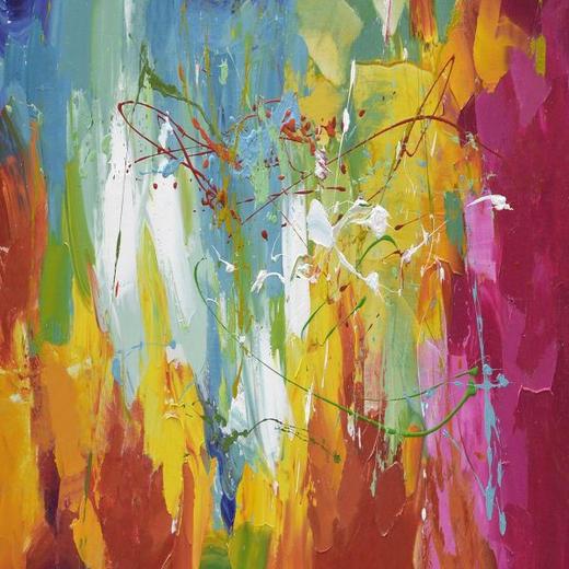 TAVLA - multicolor, Basics, trä/textil (30/30cm)