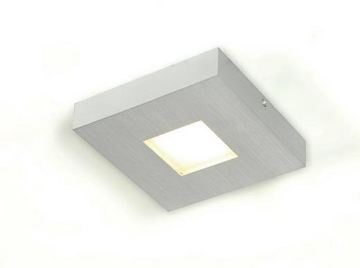 LED-DECKENLEUCHTE - Design, Metall (15/15/3cm)