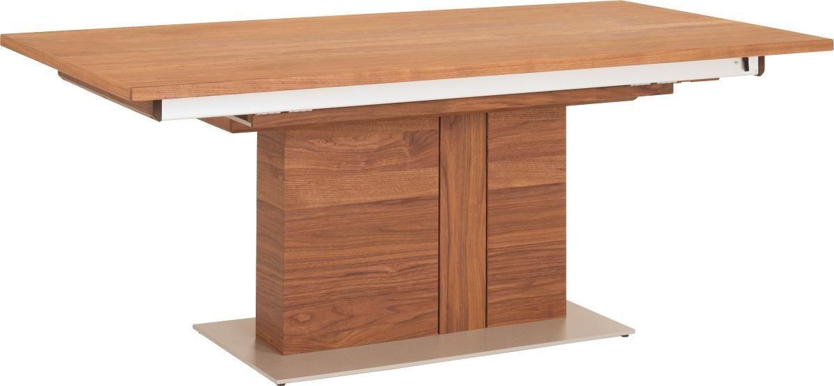ESSTISCH In Furniert Amerikanischer Nussbaum Edelstahlfarben,  Nussbaumfarben   Edelstahlfarben/Nussbaumfarben, Design, Holz