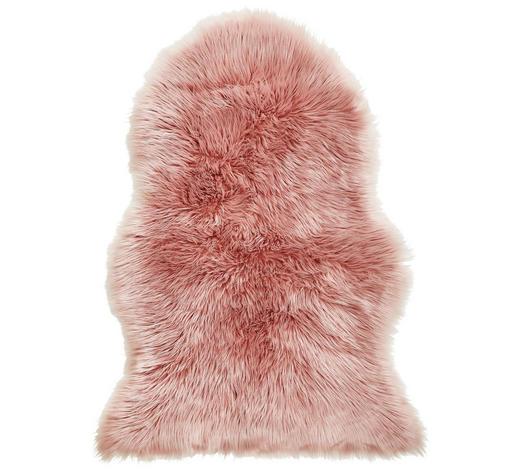 Schaffellimitat  60/90 cm  Rosa - Rosa, Design, Textil (60/90cm) - Ambia Home