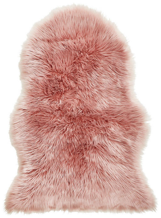 Schaffellimitat  60/90 cm  Rosa - Rosa, Design, Textil (60/90cm) - Boxxx