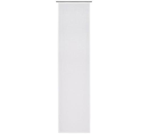 FLÄCHENVORHANG in Weiß - Weiß, Design, Textil (60/255cm) - Novel