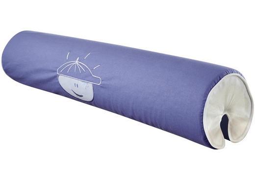 NACKENROLLE - Blau/Weiß, Design, Textil