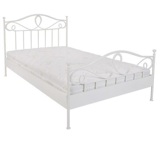 Bett In Weiss