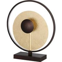 NAMIZNA LED SVETILKA CATANIA - zlata, Trendi, kovina (40/45cm)