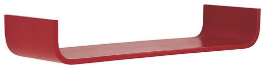 WANDBOARD Birke massiv Rot - Rot, Design, Holz (80/12/25cm) - Carryhome