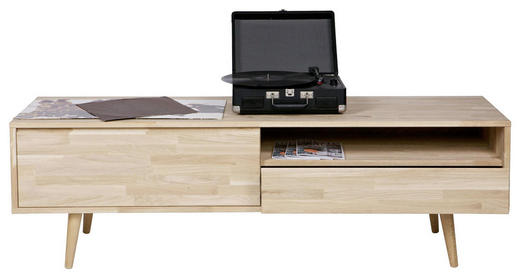 TV-ELEMENT 150/47/44 cm - Eichefarben, Design, Holz (150/47/44cm) - Ambia Home