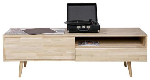 TV-ELEMENT Eiche massiv Eichefarben - Eichefarben, Design, Holz (150/47/44cm) - Carpe Diem