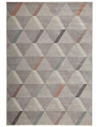 WEBTEPPICH  80/150 cm  Silberfarben   - Silberfarben, Textil (80/150cm) - Novel