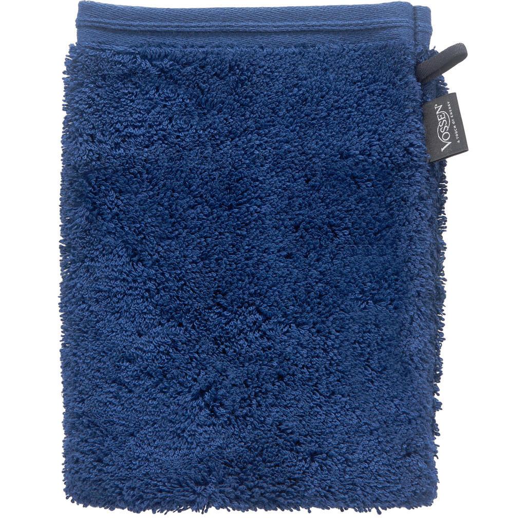 Vossen Waschhandschuh 22/16 cm blau