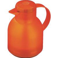 ISOLIERKANNE 1 L - Orange, Basics, Kunststoff (18/15/22cm) - EMSA