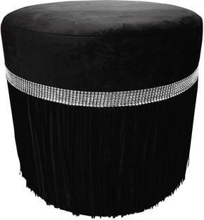 PALL - silver/svart, Design, trä/textil (40/40cm) - Ambia Home