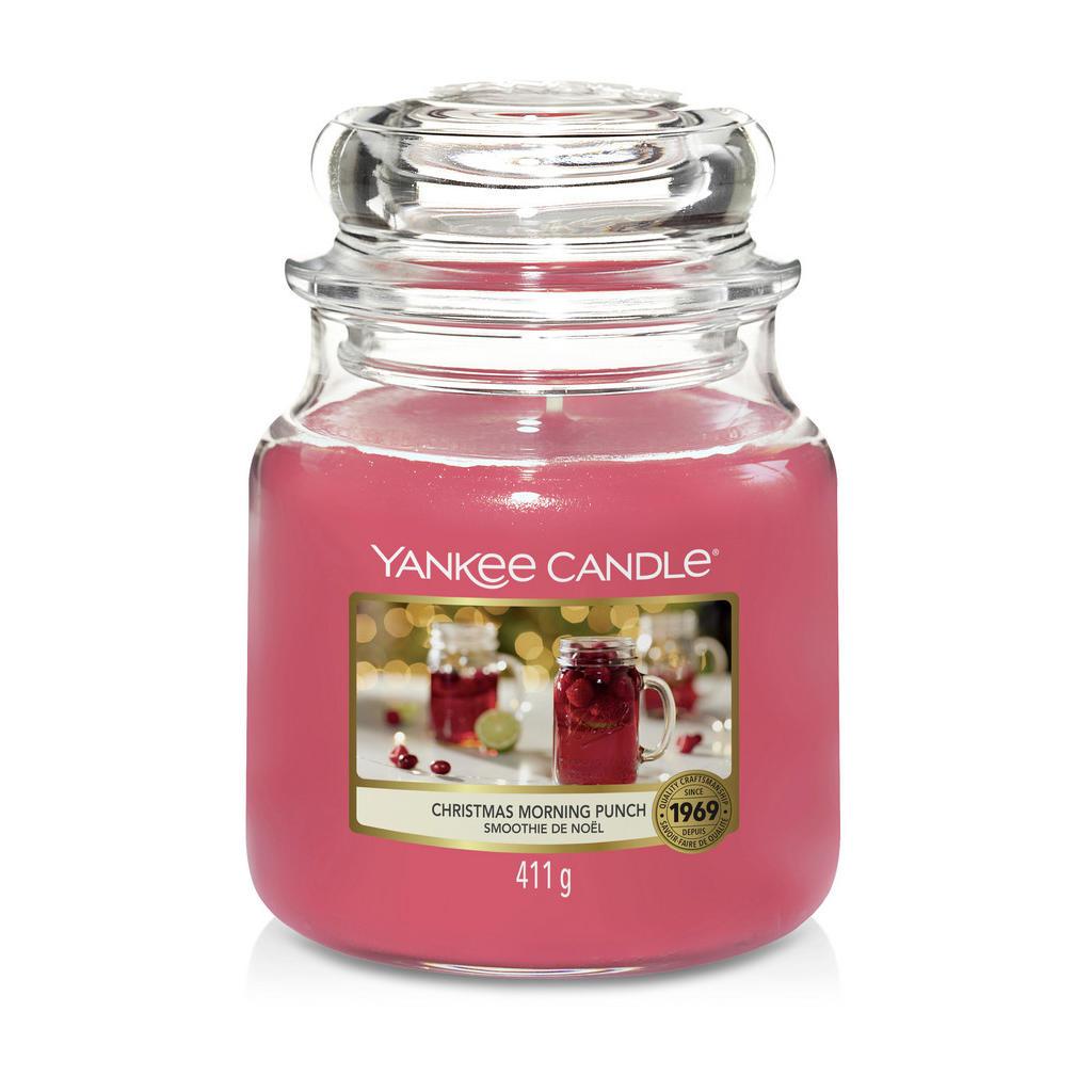 Yankee Candle Duftkerze yankee candle christmas morning punch