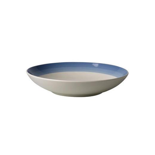 SCHALE - Blau/Creme, KONVENTIONELL, Keramik (24cm) - Villeroy & Boch