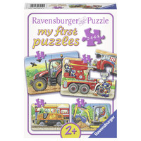 PUZZLE - Multicolor, Basics, Karton (22,2/16,0/4,5cm) - Ravensburger